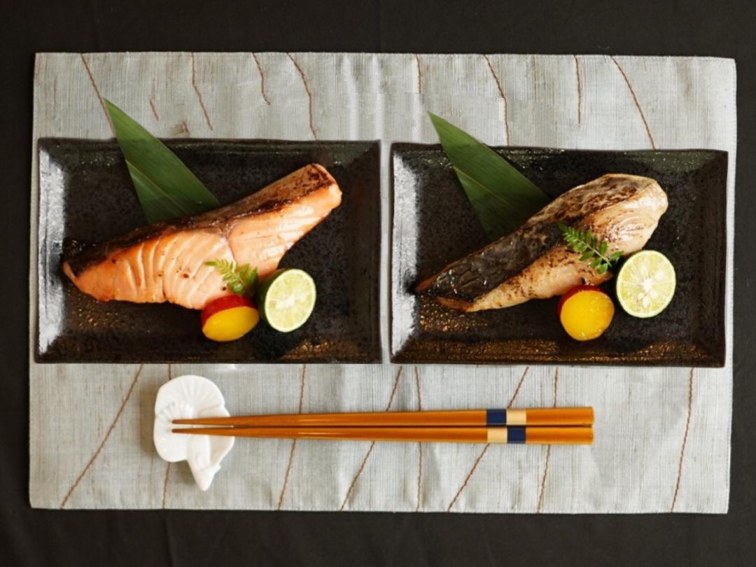 低温熟成魚6枚セット【木曽川】(サーモン+本鰆)