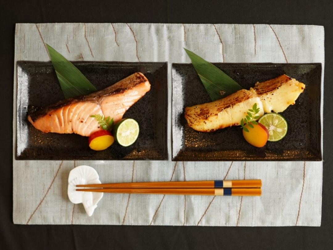 低温熟成魚6枚セット【大江桜】(サーモン&銀鰈)