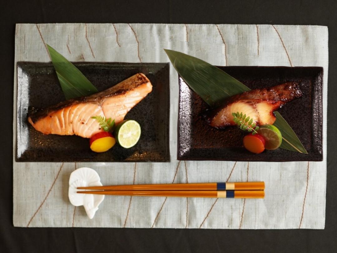 低温熟成魚8枚セット【天王】(サーモン4枚&銀鱈4枚)