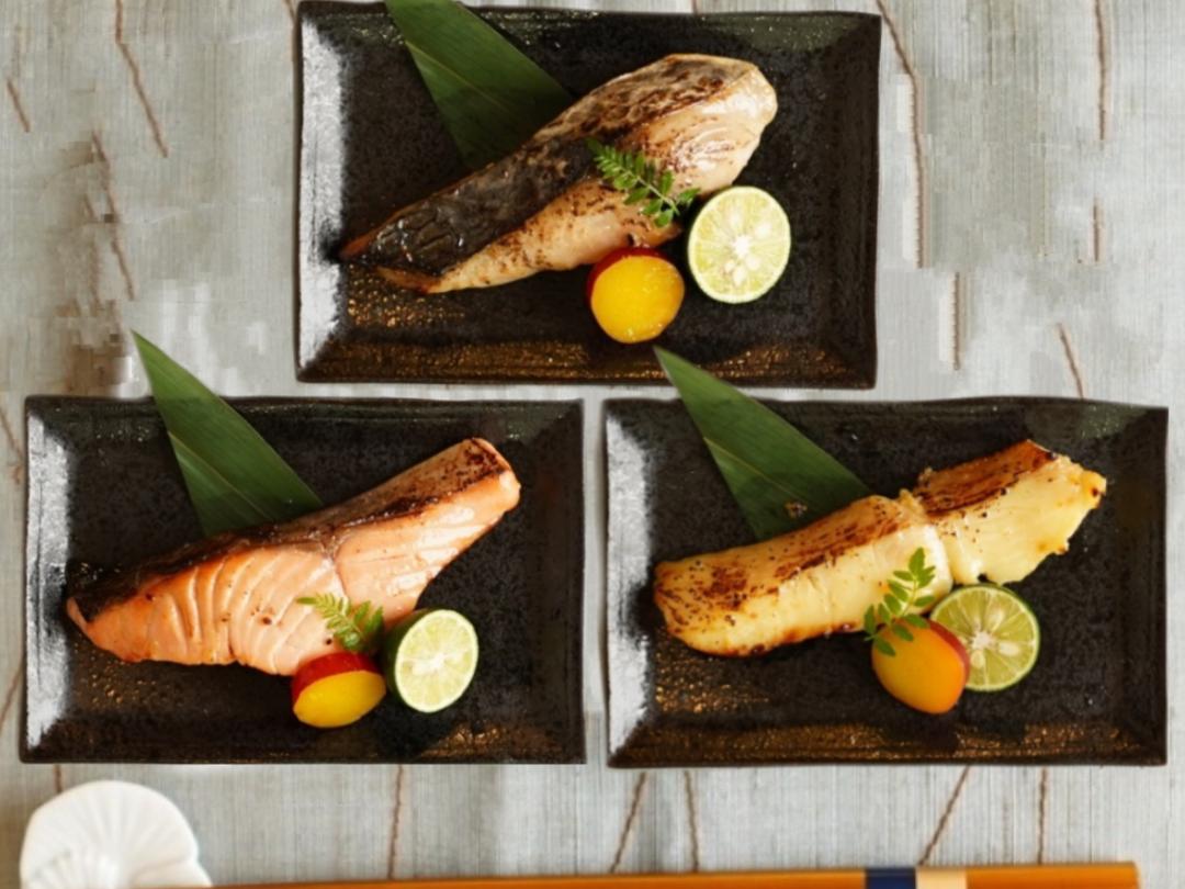 低温熟成魚8枚セット【末広】(サーモン&本鰆&銀鰈)